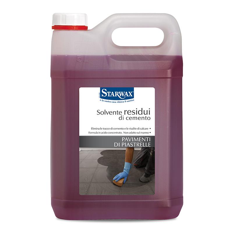 Decapante solvente residui di cemento per pavimenti di piastrelle - Starwax
