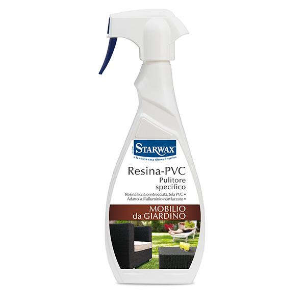 Pulitore specifico resina pvc starwax prodotti per for Mobili da giardino resina