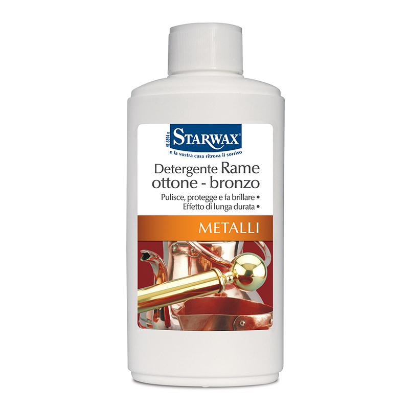 Detergente rame ottone bronzo - Starwax