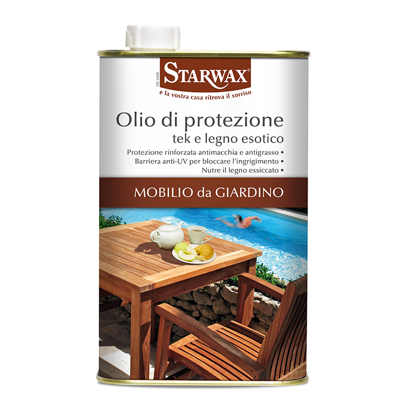 Olio di protezione per tek e legno esotico - Starwax