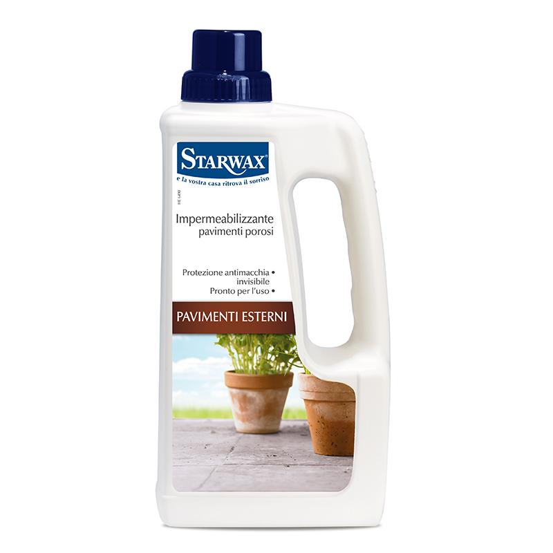Protezione impermeabilizzante per pavimenti porose interno o esterno - Starwax