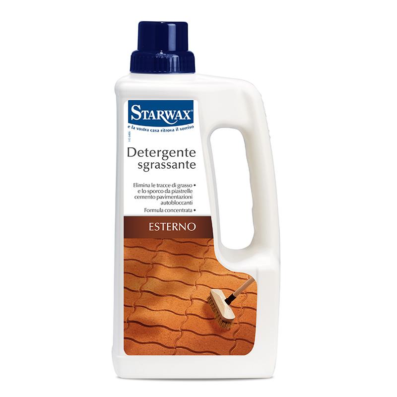 Detergente sgrassante per suolo esterno - Starwax