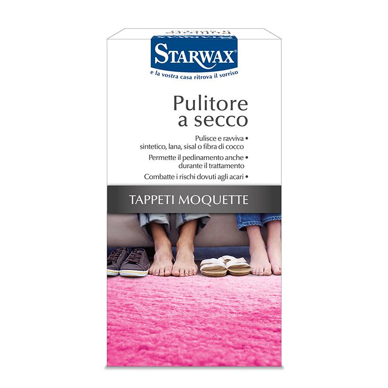 Pulitore a secco per tappeti e moquette - Starwax