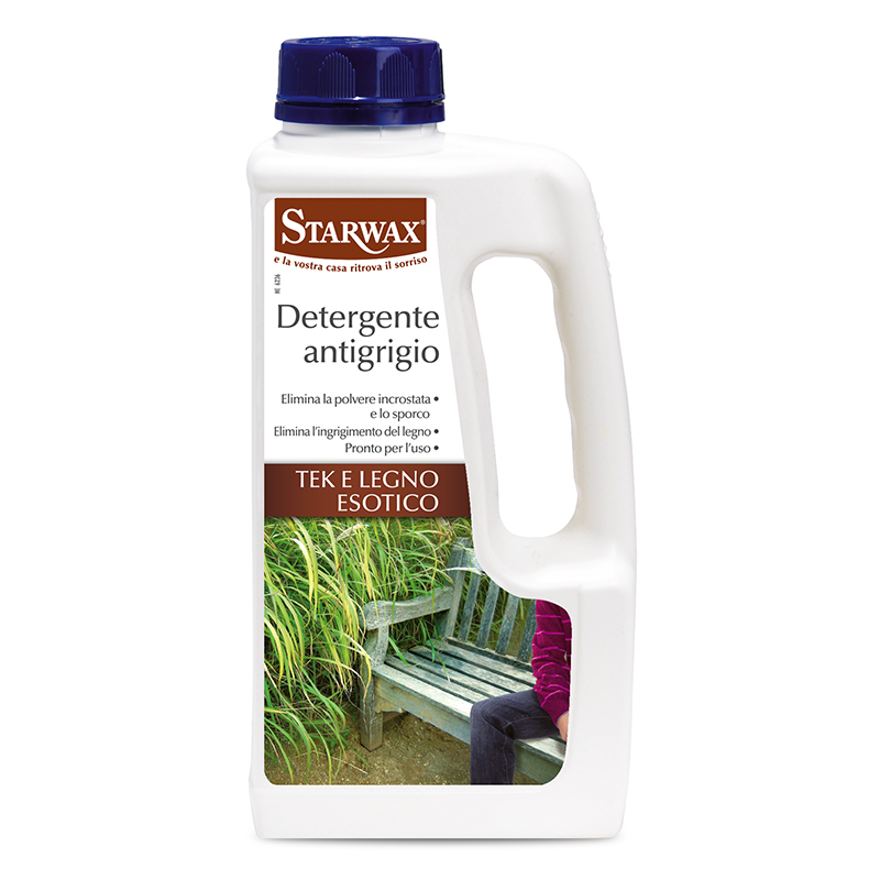 Detergente antigrigio per tek e legno esotico - Starwax