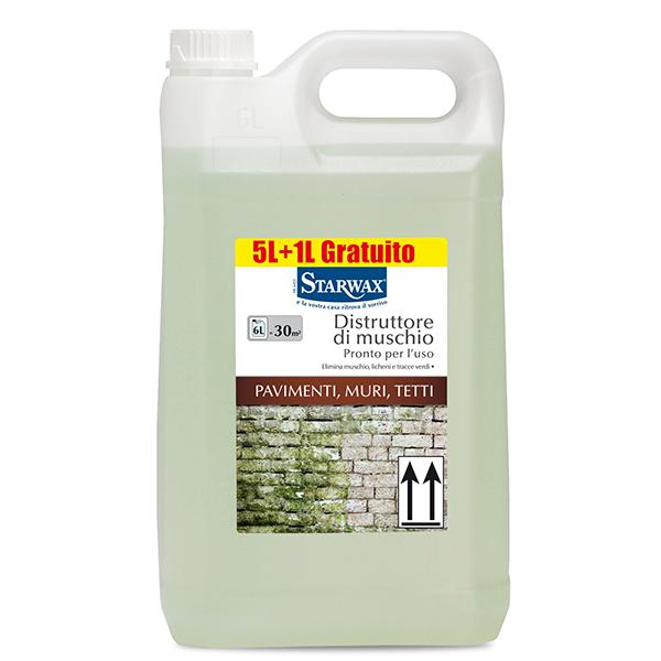 Distruttore di muschio pronto per l uso pavimenti muri tetti starwax prodotti per pulizie casa - Prodotti per pulire casa ...